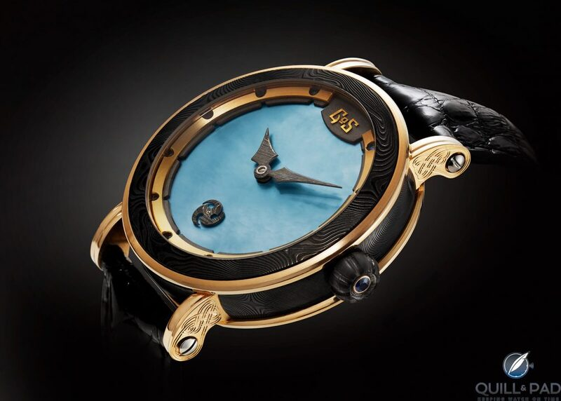 Skadi: A Nordic Goddess Of A Wristwatch For Men By Gustafsson And Sjögren (GoS)   Quill & Pad
