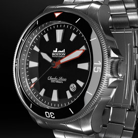 The Boston Watch Company and the Charles River Diver