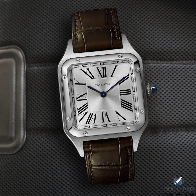 The Cartier 2019 Santos-Dumont Is Now Available: Happy Landings   Quill & Pad