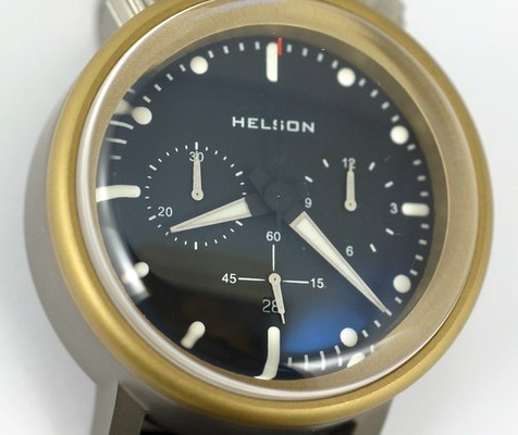 The Helson Gauge Chrono: A study in heavy metal