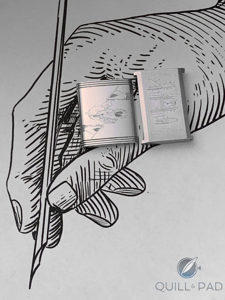 The Making Of A Custom-Engraved Jaeger-LeCoultre Reverso Classique   Quill & Pad
