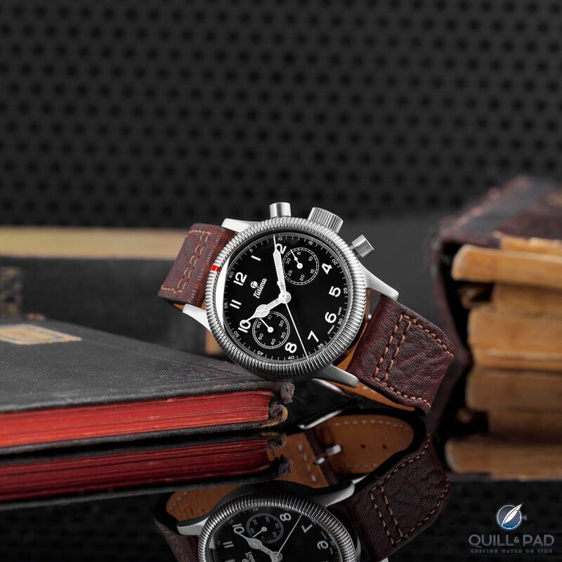 Tutima Flieger Friday Chronograph Limited Edition: From Hashtag To Compelling Pilot's Watch Rooted In History   Quill & Pad