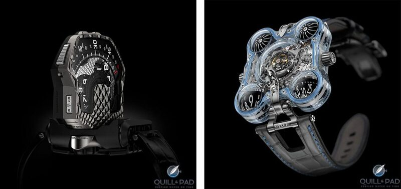 Urwerk Vs. MB&F: How Do They Square Up? - Reprise   Quill & Pad