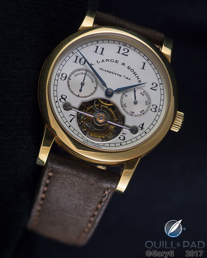 Why The A. Lange & Söhne Tourbillon Pour Le Mérite Is One Of The Most Historically Important Modern Wristwatches - Reprise | Quill & Pad