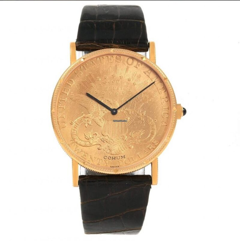 Wrist Game or Crying Shame: Corum Gold Coin Watch
